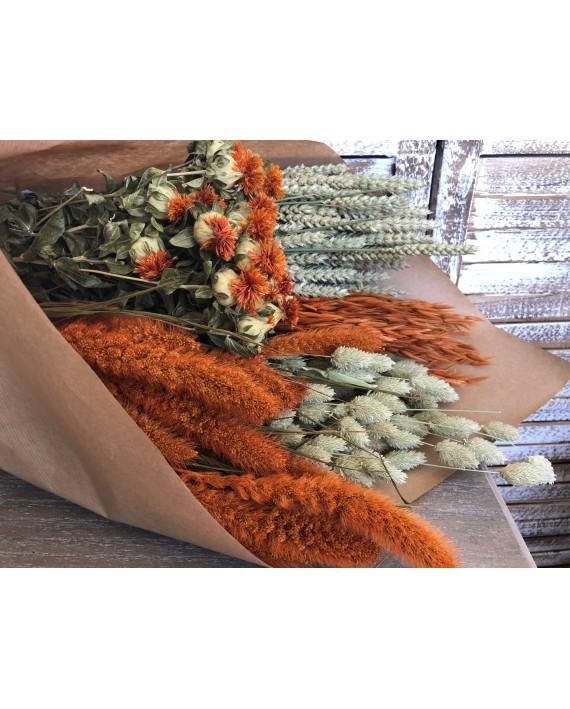 Pack de flor seca taronja