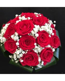 Ram de núvia roses vermelles Liverpool