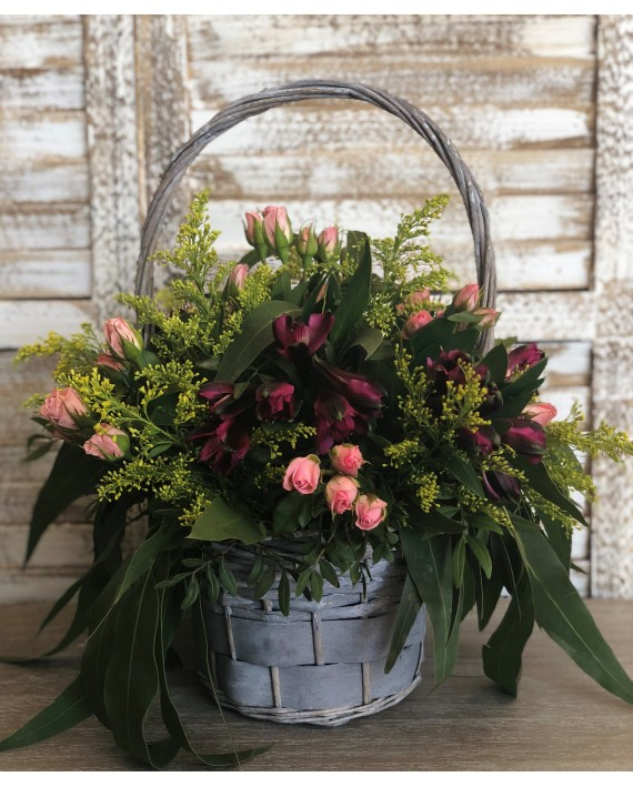 Cistell floral