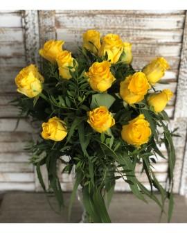 Rosas amarillas